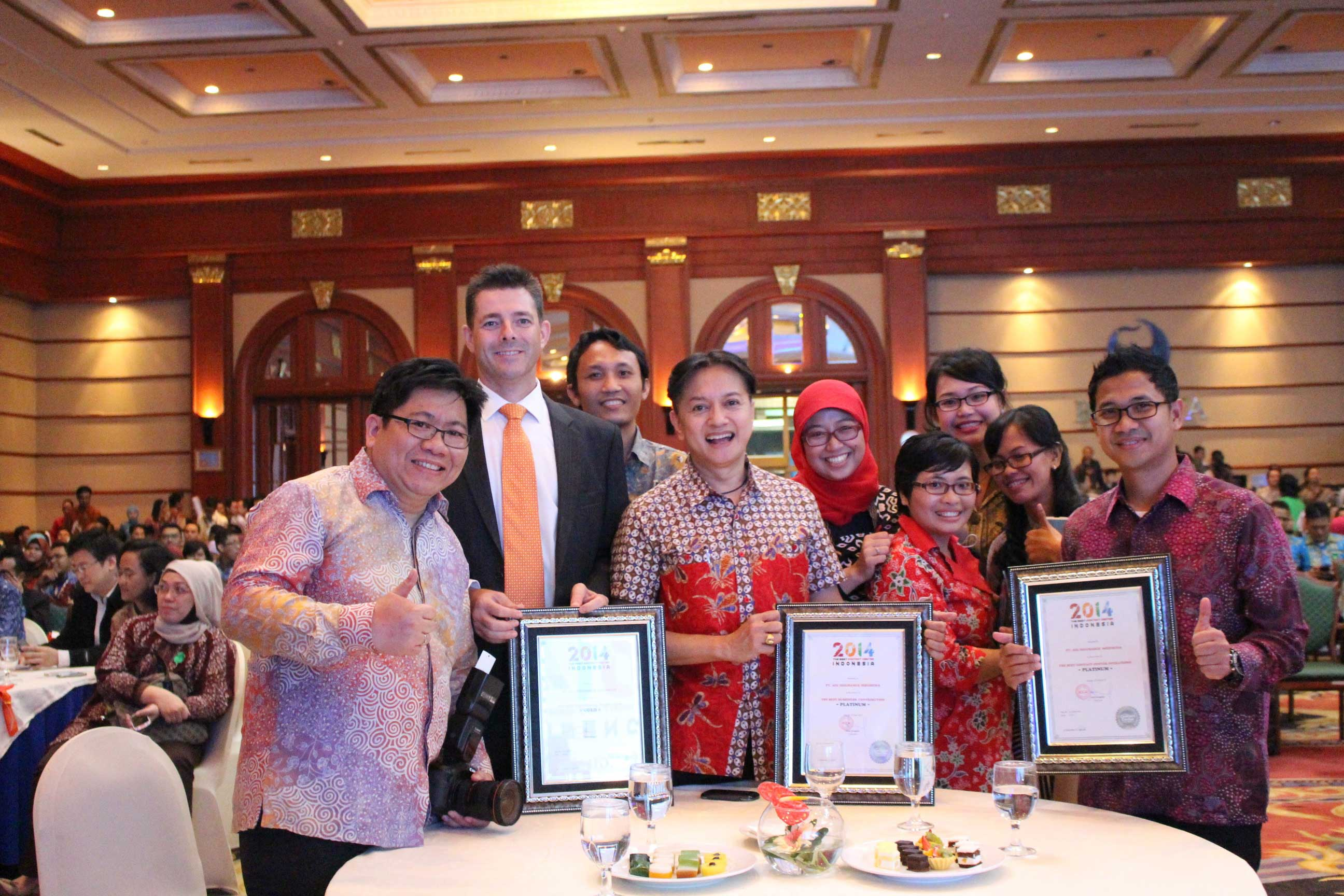 Providing Best Services and Solutions for Customers AIG Indonesia wins 5 Prestigious Awards